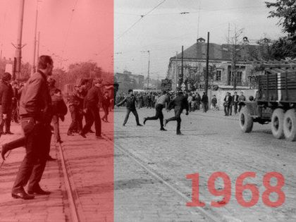 Košice proti Okupácii v r. 1968